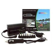 ALIMENTATORE UNIVERSALE 120W NOTEBOOK PC PER AUTO 12v E CASA 220v USB UNIVERSALE