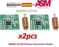 2pcs CC1101 Wireless Module Long Distance Transmission Antenna 868MHz