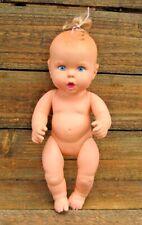 "Vintage Gerber Baby Doll 1994 Blonde Blue Eyes Vinyl 15""T Toy Biz Inc"