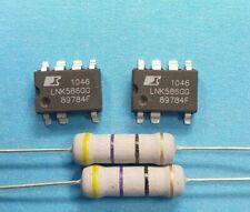 2x  LNK586GG  +2 x Widerstand 47 Ohm 3 Watt - Reparaturset AEG, .......