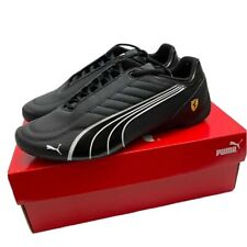 NEW Men's PUMA Scuderia FERRARI Future Kart Cat Motorsport Shoes Auto - Black