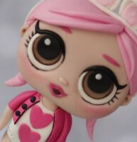 Edible LOL DOLL cake topper figure LARGE personalised decoration Birthday dolls