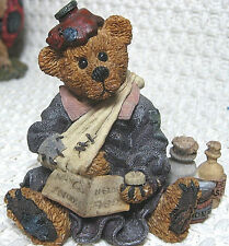 Boyds Bears & Friends, Bearstone Collection, Bailey Poor Ol Bear (#227704), 1998