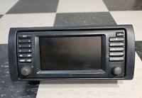 BMW E46 E39 E53 X5 OEM Radio GPS Wide Screen Display 65.52-6915516 UNTESTED