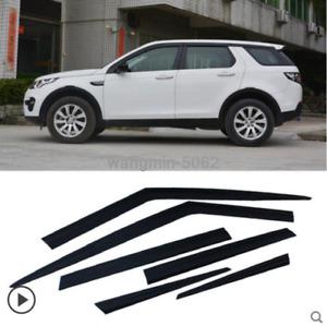 2016-2020 For Land Rover Discovery Sport Black Window Visor Vent Sun Rain Guard