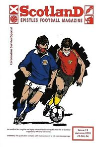 SCOTLAND EPISTLES FOOTBALL MAGAZINE #13 - TARTAN ARMY FANZINE / MAGAZINE
