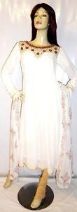 Shalwar kameez eid pakistani designer frock indian salwar sari abaya suit uk 16