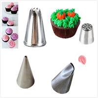 Icing Piping Nozzles Cupcake Tip Bag Fondant Cake Sugarcraft Decorating ToolR8Y