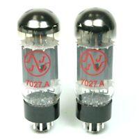 JJ/Tesla 7027 Power Tubes, Matched Pair