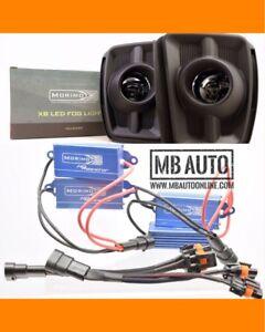 Morimoto XB Ram LED Fog Lights For 15 16 17 18 Dodge Ram 1500 5500K with WIRING