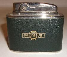 Rowenta Bridge Feuerzeug 1960 / 1970er Jahre mit Werbung Polysius, sehr gut