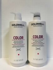 GOLDWELL DUALSENSES COLOR BRILLIANCE SHAMPOO & CONDITIONER - 25.4oz LITER DUO