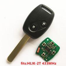 Remote Key for Honda HLIK-2T Accord Element Pilot Civic CR V HR-V Fit City Jazz