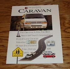Original 1995 Dodge Caravan Sales Brochure 95