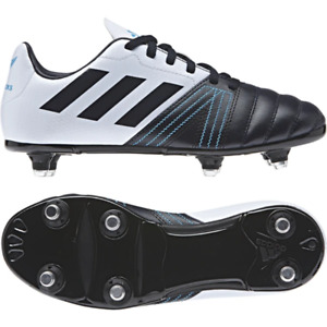 ADIDAS ALL BLACKS Junior Boys Soft Ground Rugby Boots UK BRAND NEW BOXED