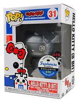 Funko Pop #31 Silver Metallic Hello Kitty 8 Bit Funhouse Custom Exclusive 1/10