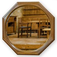 Hugh Birkett (Ex-Oliver Morel) Arts & Crafts Cotswold School Octagonal Mirror