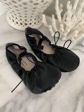 FREESTYLE Danskin Black Ballet Dance Shoes Girls Sz 2