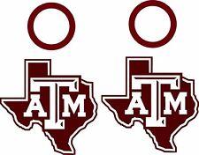 Texas A&M Cornhole Set of 4 Vinyl Decals Stickers, Bean Bag Toss, Free Window