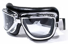 Motorradbrille Brille Google Skibrille Fliegerbrille Chrom Sportbrille Cabrio
