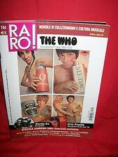 RARO 154 THE WHO Elvis Presley Stormy Six Claudia Mori Suicide Sonic Youth
