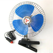 Looking 12Volt 6Inch Car  Cooling Fan with Clip Switch Outdoor Camping Vogue