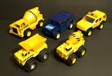 Toy trucks Soma cement mixer DIECAST construction PLAYSET Humvee dump truck