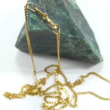 Collar de joyería de metales preciosos sin piedras amarillo oro blanco