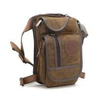 Men Canvas Hip Leg Bag Motorcycle Rider Tactical Military Belt Waist Fanny  Pack 3adfbb716997e