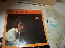 RICHARD DIGANCE SELF TITLED LP PROMO W INSERT  VINYL NM