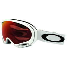 Oakley Ski Snow Goggles A Frame 2.0 OO7044-50 Polished White Prizm Torch Iridium