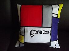 Team La Vie Claire cycling cushion cover Look Lemond Hinault