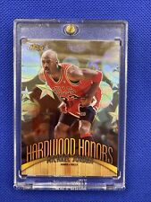 Michael Jordan 1998-99 Topps Finest Hardwood Honors Refractor H1 Rare SP BULLS