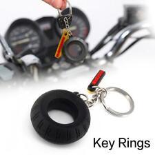 Auto Auto Keychain Creative Reifen Gummi Keychain Schlüsselanhänger Motorrad