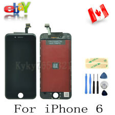 """LCD Touch Screen Digitier Assembly Display Replacement For iPhone 6 4.7"""" Black"""