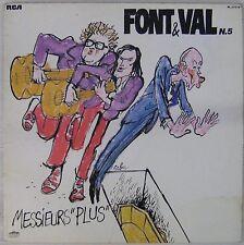 Cabu 33 tours Font et Val 1981