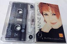 JOHANNE BLOUIN Tape Cassette DE FELIX A AUJOURD'HUI 1996 Rsb Canada PGC-4-992