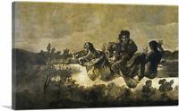 ARTCANVAS The Fates - Atropos Canvas Art Print by Francisco De Goya