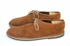 Clarks Originals Brown Suede Leather Oxford Dessert Creeper Sole Low Boot SZ 12M