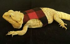 Lil' Bestie Bearded Dragon reptile Harness and Leash LUMBER JACK