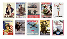1/24 1/25 G scale model USA military recruiting signs posters WW2