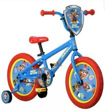 Nickelodeon 16 inch Paw Patrol All Character Kids Bike with Training Wheels