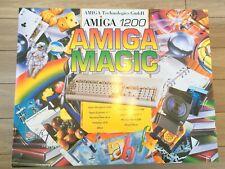 Amiga commodore 1200 Magic ELBOX keyboard + housing MUST SEE NEW