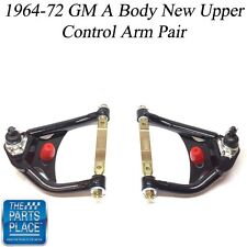 1964-72 GM A Body New Pre-Loaded Tubular Upper Control Arms - Pair