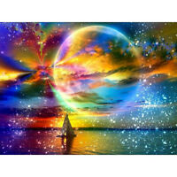 Full Drill Planet Landscape 5D Diamond Painting Embroidery Cross Stitch Tre New