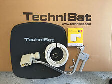 original TechniSat Digidish45 mit SCR - LNB (unicable) schiefergrau