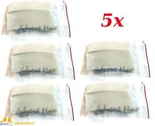WALKER TAPE Clear 3M Hairpiece Tape Contour C Wig Toupee - 5 Packs - 180 pieces