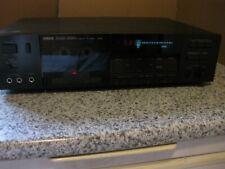 Yamaha K-640 Natural Sound Cassette Recorder Player Black