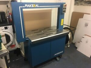 Pakseal Automatic Strapping Machine SX 510 In Working Order But Temperamental