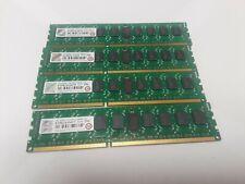 Transcend 16 GB (4 X 4GB)  JetMemory DDR3-1333 ECC Registered 2Rx8 (TS4GJMA333N)